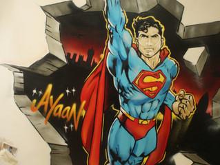 Superman or spiderman?
