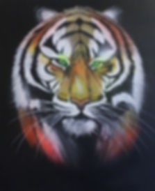 Tiger Painted