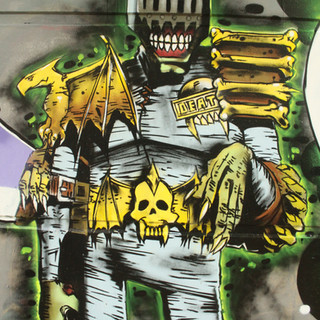 2000ad Judge Death Painting
