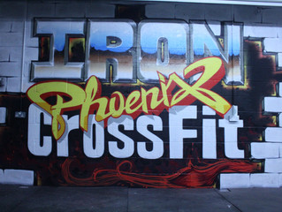 Throwback to the work I done for Iron Phoenix Crossfit Gym