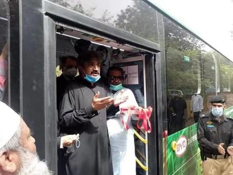 BYD llevará la primera flota de buses 100% eléctricos a Pakistán