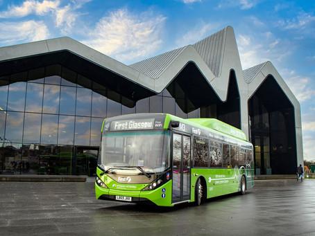 First Bus llevará la flota eléctrica de Glasgow a 150 buses con un nuevo pedido de 126 unidades BYD