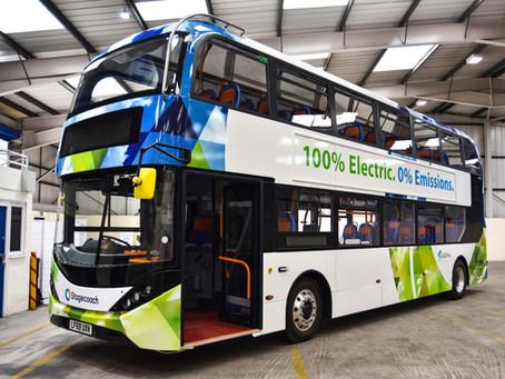 Stagecoach encarga 46 buses eléctricos BYD ADL para flotas en Escocia