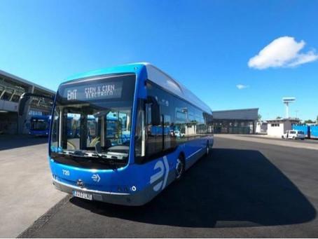 Madrid recibe 30 nuevos buses eléctricos BYD