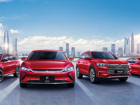 Las ventas de vehículos de nueva energía de BYD se disparan un 207,1% interanual en junio