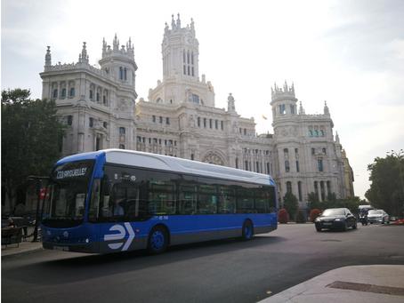 BYD es seleccionado nuevamente para un tercer pedido de flota de EMT Madrid