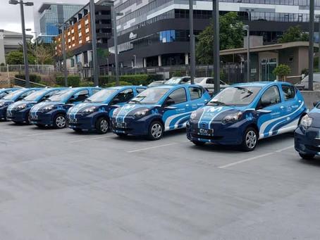 BYD entrega vehículos eléctricos de pasajeros a Costa Rica