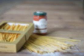 Auch für Zuhause: Frischpasta und Saucen
