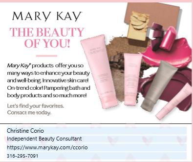 Mary Kay Quarter Page Ad - Corio