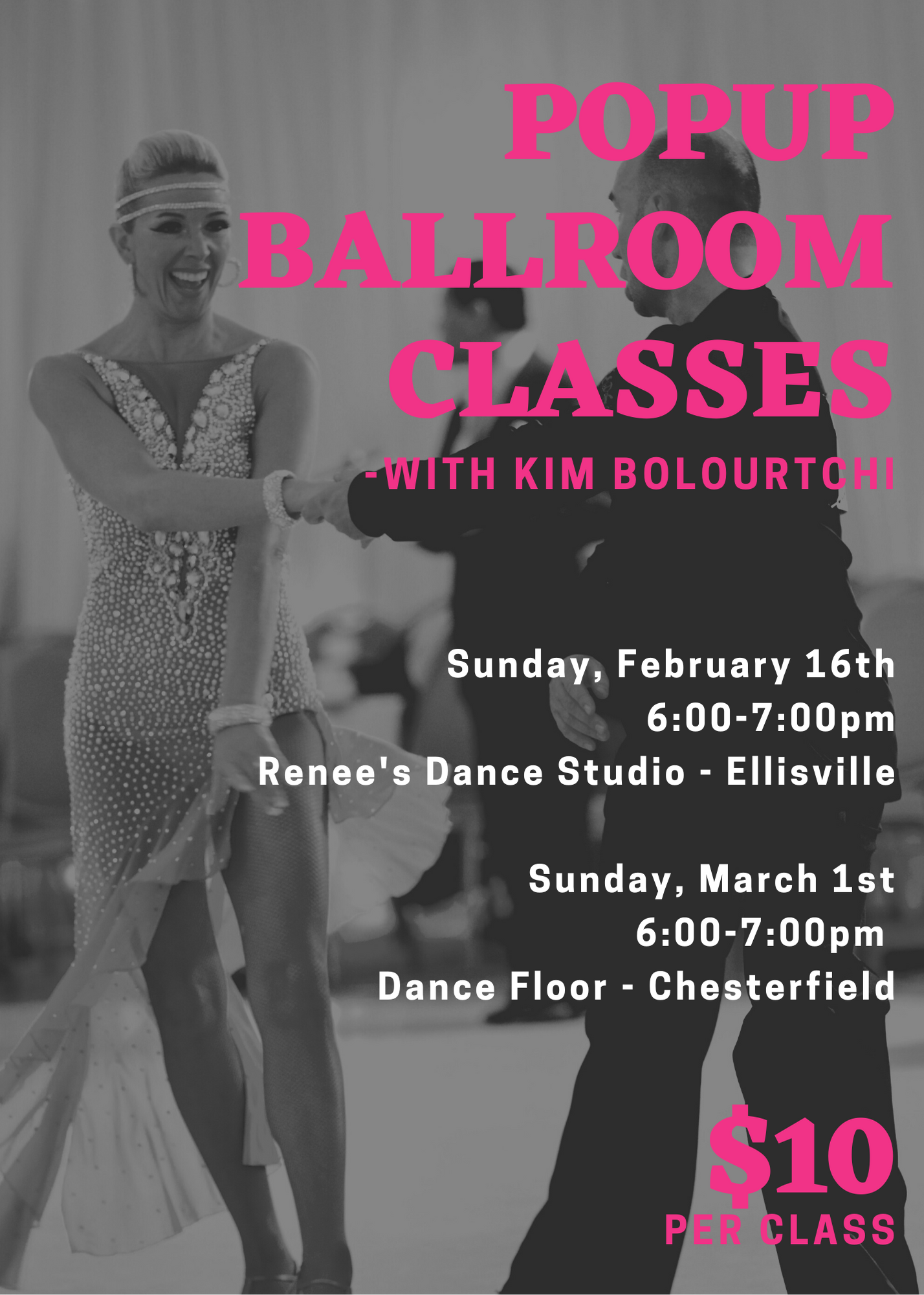 Ballroom Pop Up Classes