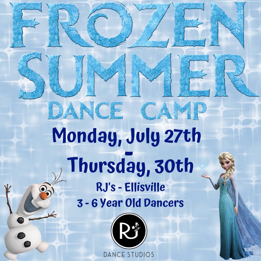 Frozen Summer Dance Camp SOCIAL