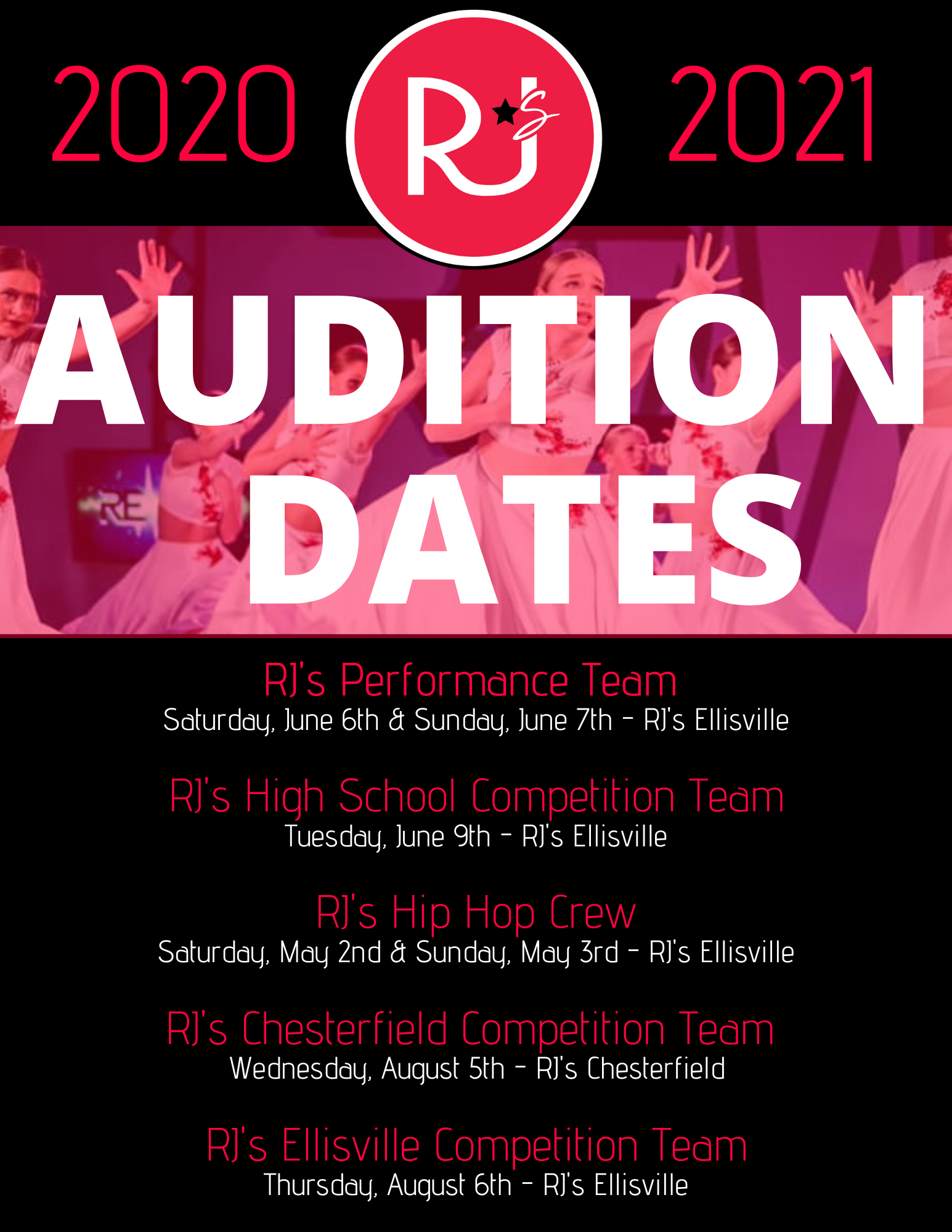 Teams Auditions POSTER