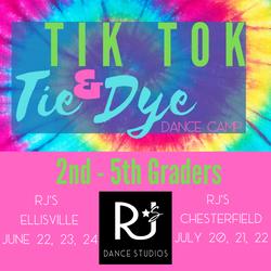 Copy of Tik Tok & Tie Dye Camp