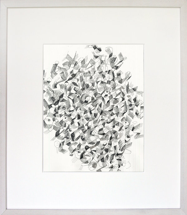 """Untitled"" Graphite Pencil on Paper drawing by Edward Burke"