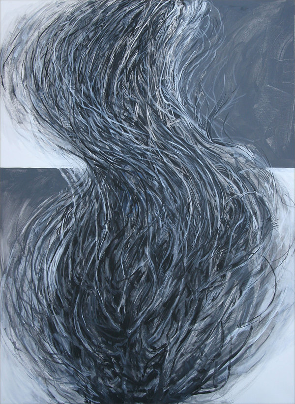 """Windswept"" Painting by Edward BurkeAcrylic/Canvas"