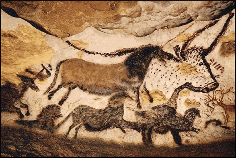30,000 BC - Cave Paintings - Beginning Drawing wth Edward A. Burke