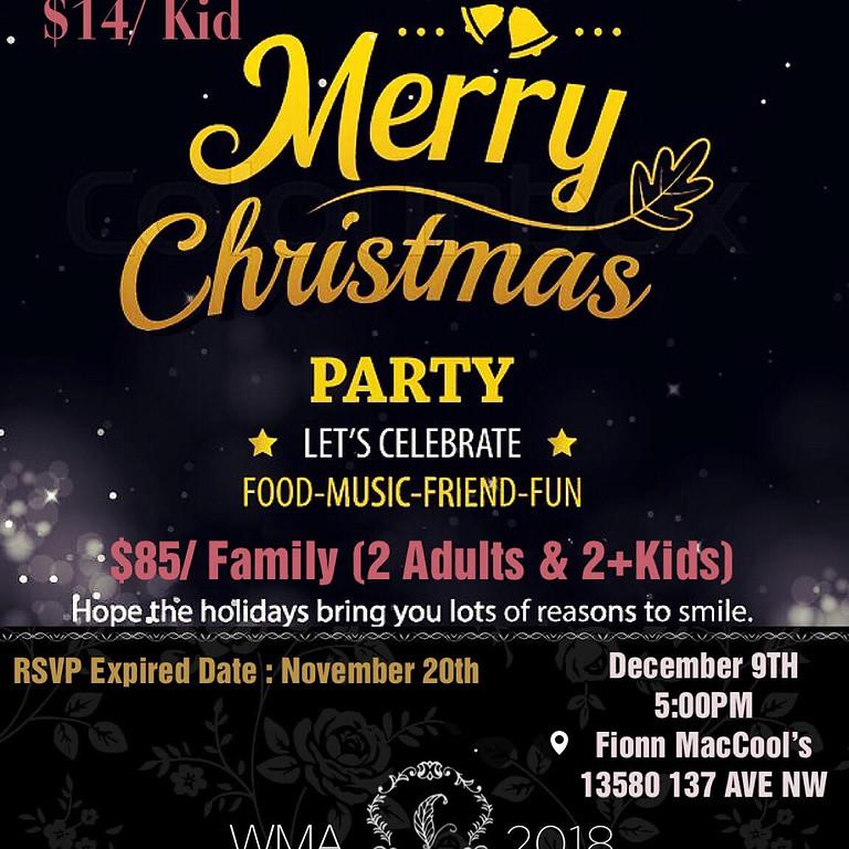 WMA 2018 Christmas Dinner & Show