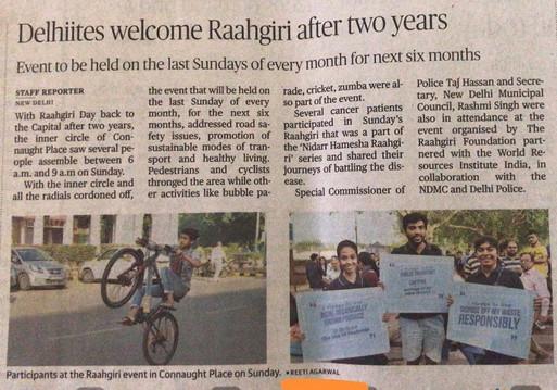 Raahgiri, Delhi