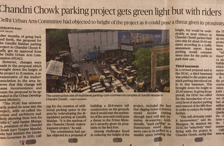 Chandni chowk new parking