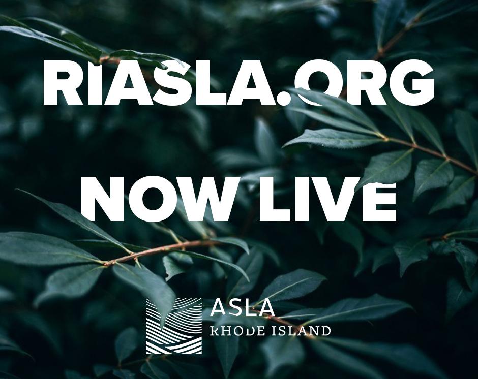 WHAT'S HAPPENING | Rhode Island ASLA