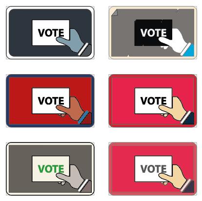 Exploring Vote Cards (backs)