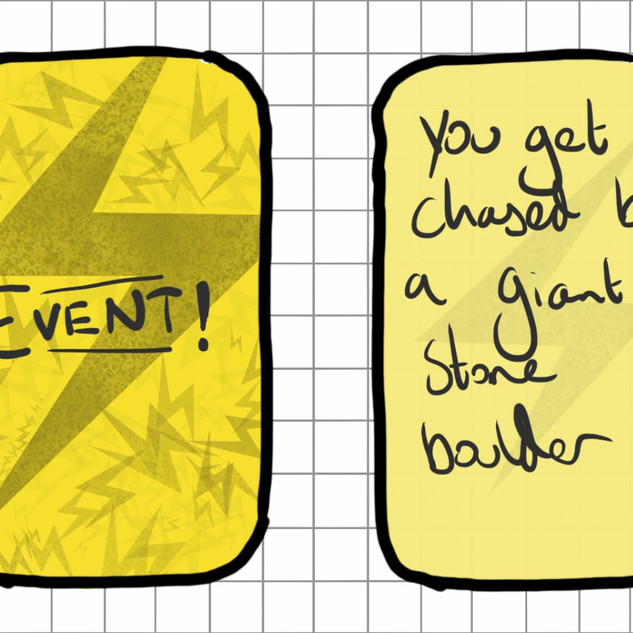 Prototype of Event Cards