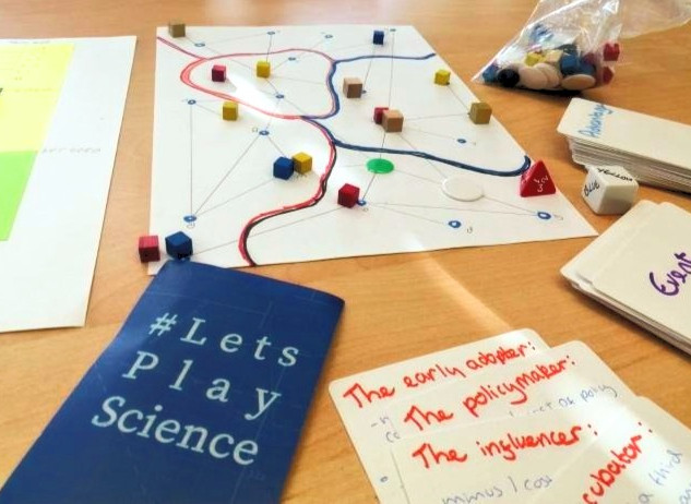 #LetsPlayScience