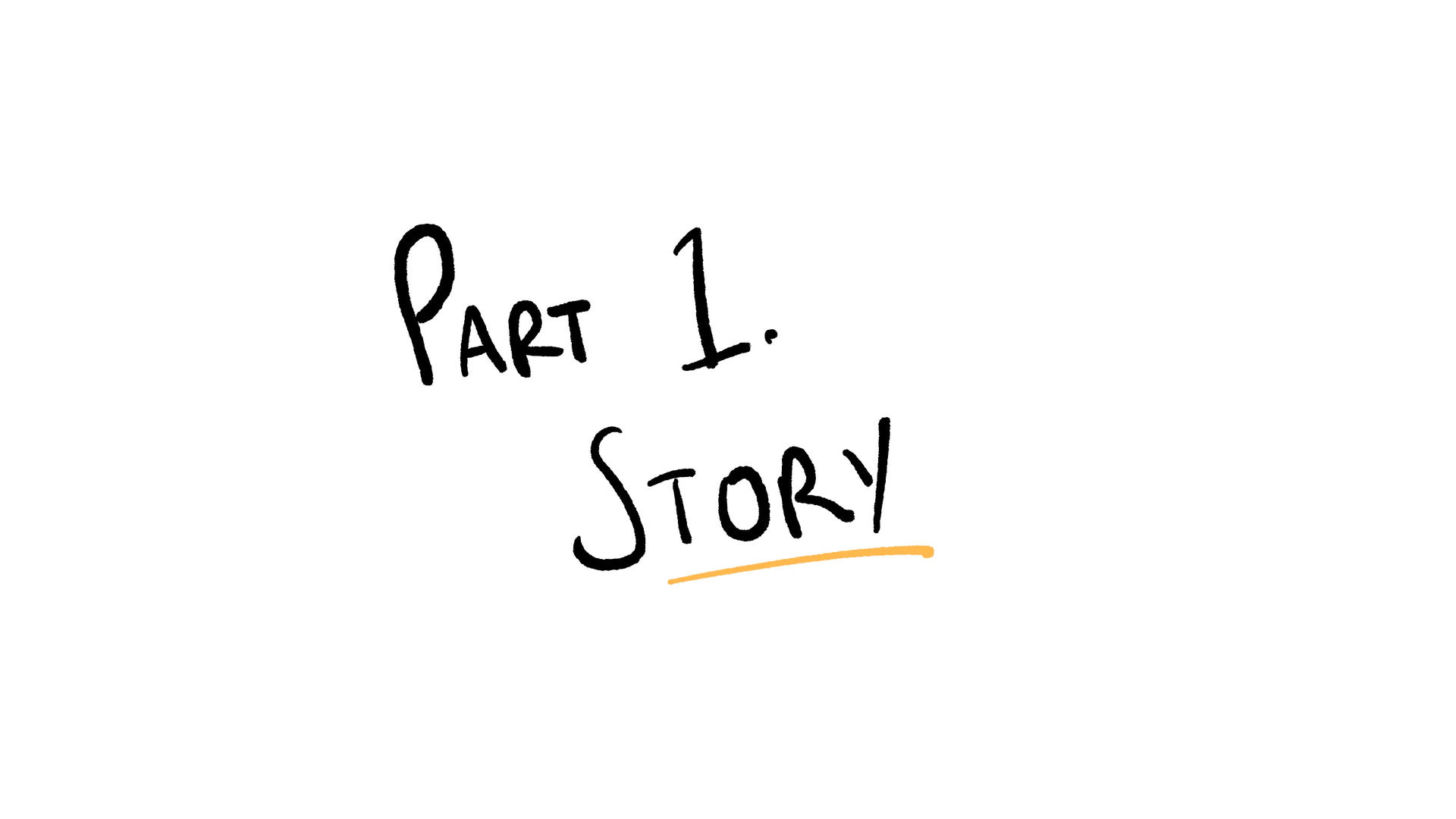 Part 1 - Story
