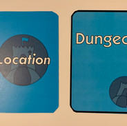 Test printing of Location Card