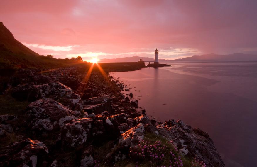 Red Sky at Rubha nan Gall near Tobermory