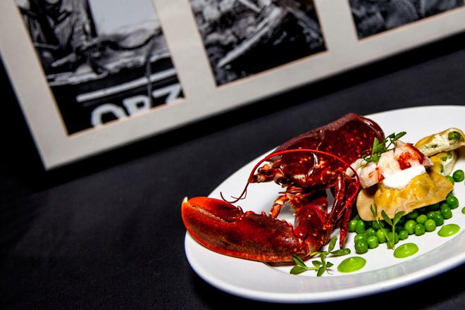 Ninth Wave Lobster ravioli