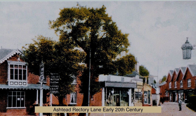 Ashtead Rectory Lane early 20thC_edited.
