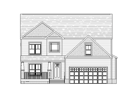 The South Anna Rendering Front Elevation