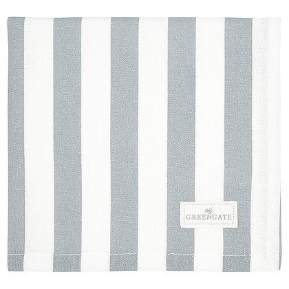 Stoff Serviette Rigmor grey