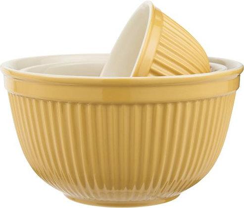 Schalensatz je 3 Mynte Mustard