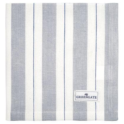 Stoff Serviette Elinor pale grey