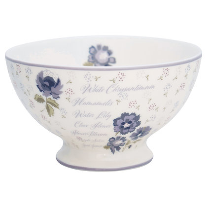 Soup Bowl Beatrice white