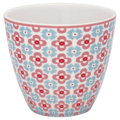 Latte Cup Cordelia white