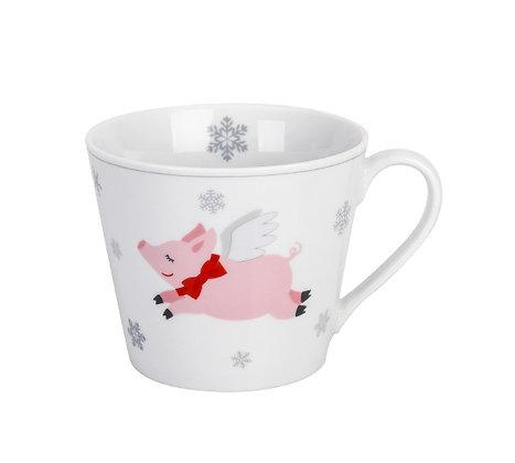 Happy Cup Nostalgic Goose / Pig