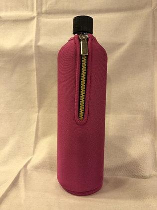 Dora's Glasflasche 0,7l pink