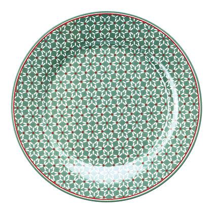 Plate Juno green