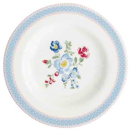 Small Plate Evie white