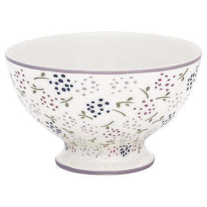 Snack Bowl Ginny white
