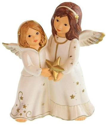Engelpaar mit Stern