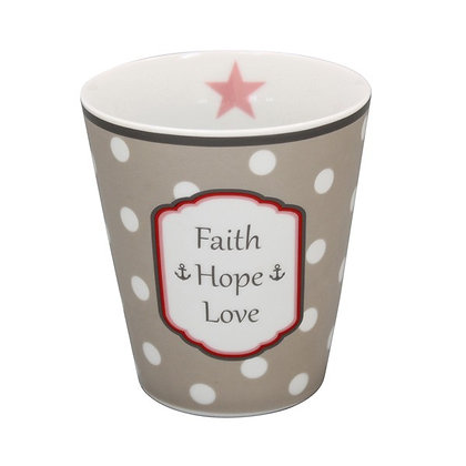 Mug Faith Hope Love