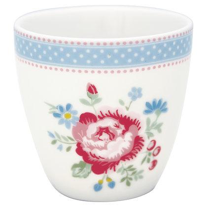 Mini Latte Cup Evie white