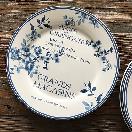 Plate Grands Magasins