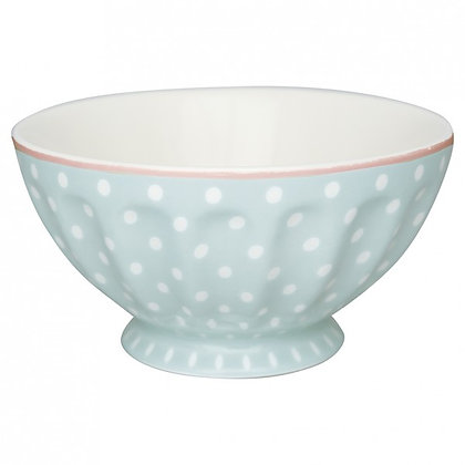 French Bowl XL Spot pale blue