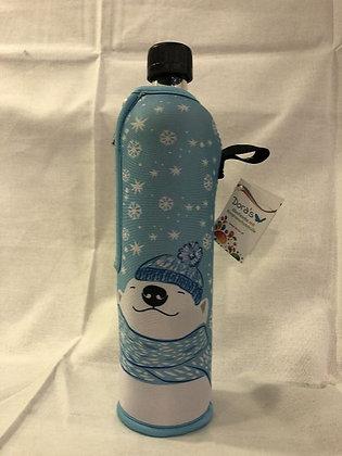 Dora's Glasflasche 0,5l Eisbär