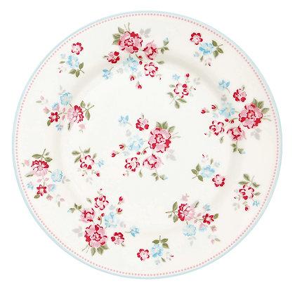 Plate Sonia white